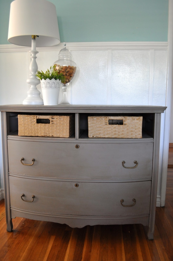 Annie sloan antoinette chalk paint 174 - Annie Sloan Chalk Paint In French Linen Dresser Missing Drawers From Bless Ed
