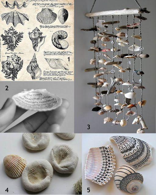 Horten Hobby: Inspirasjon- Lag fine ting av skjell