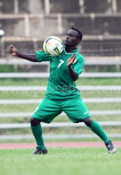 Harambee Stars Midfileder Harrison Mwendwa during training session at Nyayo National Stadium on May 14, 2014. Stars will play Comoros Island in the 2015 AFCON preliminary match on Sunday at the same venue. Photo/Fredrick Onyango/www.pic-centre.com