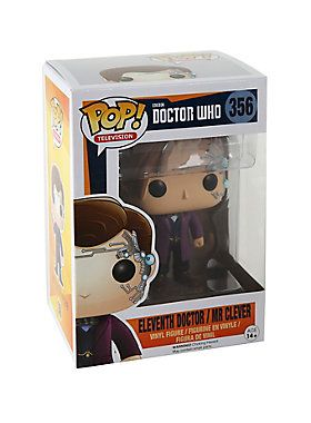 """<p>Eleventh Doctor / Mr Clever from <i>Doctor Who</i> is given a fun, and funky, stylized look as an adorable collectible vinyl figure!</p> <ul> <li style=""""LIST-STYLE-POSITION: outside !important; LIST-STYLE-TYPE: disc !important"""">Pop! Television 356</li> <li style=""""LIST-STYLE-POSITION: outside !important; LIST-STYLE-TYPE: disc !important"""">3 3/4"""" tall</li> <li style=""""LIST-STYLE-POSITION: outside !important; LIST-STYLE-TYPE: disc !important"""">Vinyl</li> <li style=""""LIST-STYLE-POSITION..."""