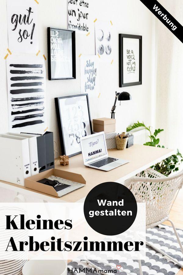 Kleines Arbeitszimmer Skandinavisch Einrichten Und Wie Ich Mehr Mut Zum ICH  Gefunden Habe | Kreativas   DIY U0026 Saisonale Deko | Pinterest | Crafty