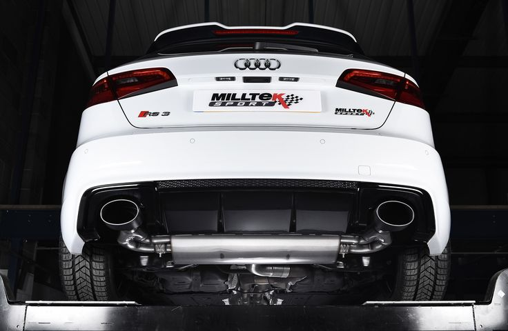 Milltek Sport Performance Exhaust Systems for the Audi RS3 Sportback (8V MQB)