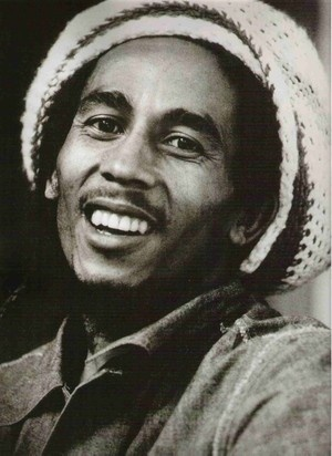"Bob Marley  1945.2.6-1981.5.11  Malignant melanoma. Bob had the same rare type I was diagnosed with in July of 2012. It is Acral Lentiginous Melanoma. It appeared to be a ""blister' on the sole of my foot. Early detection saved my life!"