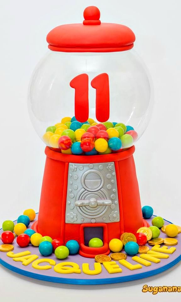 Gumball Machine Cake | Cakes and Cupcakes for Kids ...