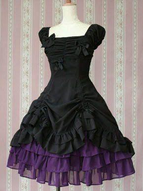 25  best ideas about Purple and black dress on Pinterest | Dark ...