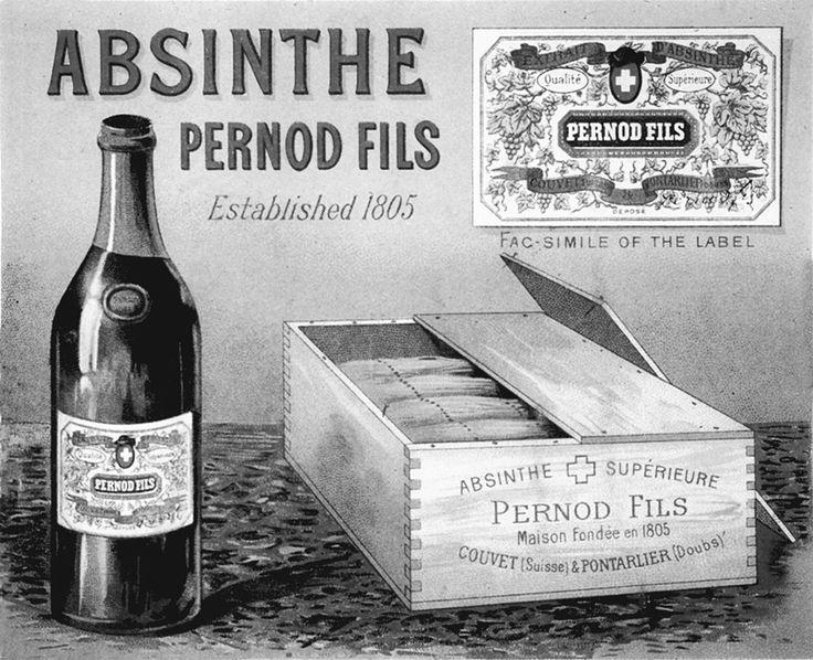 Pernod packaging