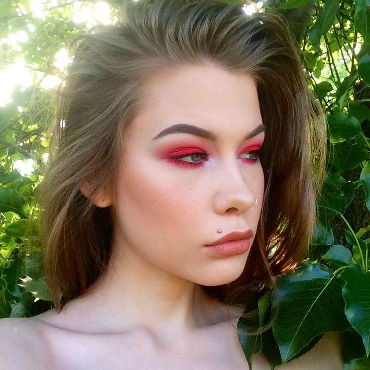 FOTD | red eyeshadow - Album on Imgur