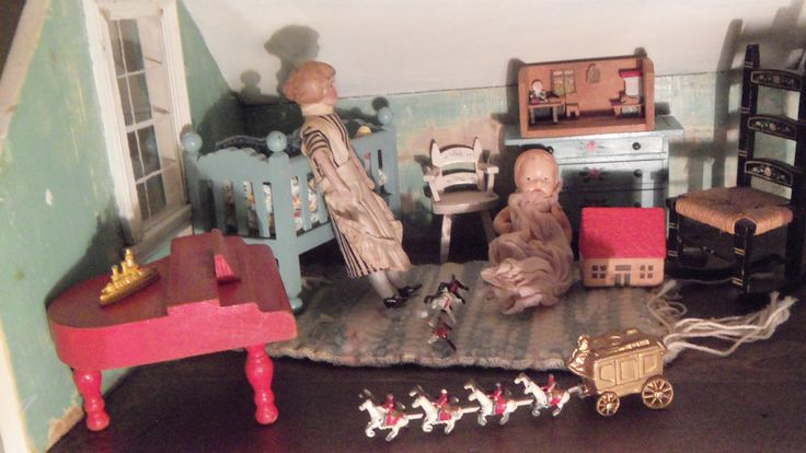 Tynietoy dollhouse nursery | Flickr - Photo Sharing!