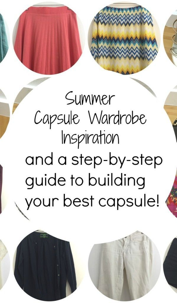 Want to build a capsule wardrobe for the summer? It's not too late! Check out this guide to figure out what to select, and then simplify your closet! My 40-Piece Summer Capsule Wardrobe (and a step-by-step guide)