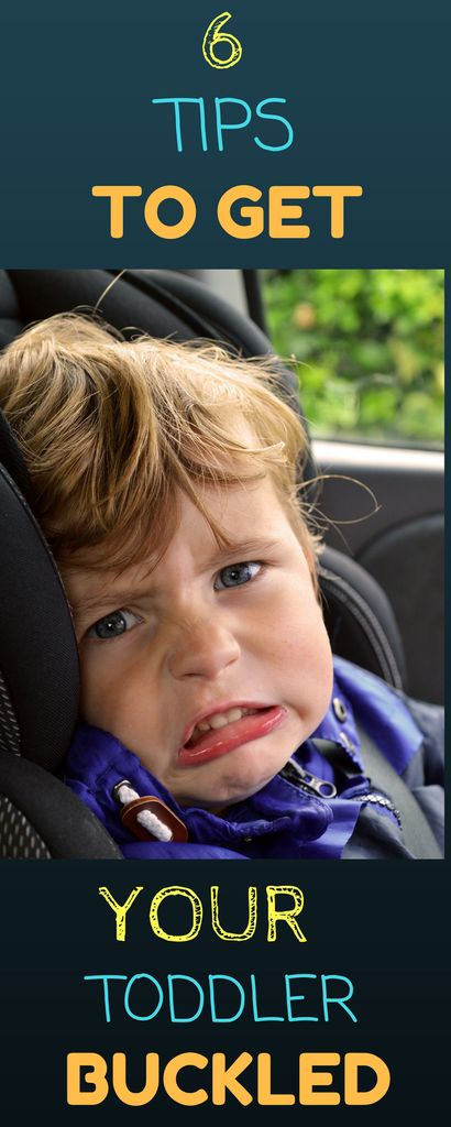 Toddler Car Seat Safety: This can be a difficult task for any parent.  Have patience with your little toddler and try some new tactics to get them buckled in their car seat with out a tantrum.