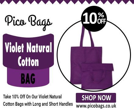 Cotton Shoulder Bags - Let the Word be Out for Brand Promotion, Alena Marth