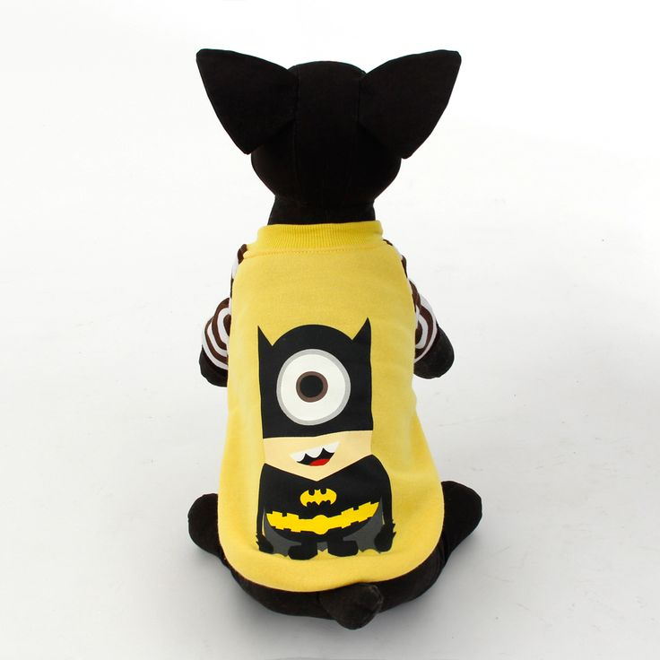 Pet Dog Clothes Cute Cartoon Design Hoodie Clothing Puppy Cat Sweater Coat Clothing Marvel Heroes Coat Style