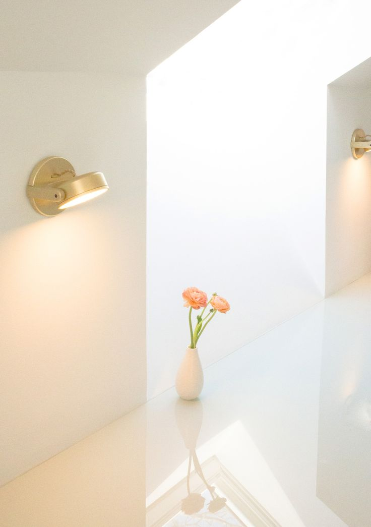 Monocle Wall Sconce In Gold By Rich Brilliant Willing (via Official Design).