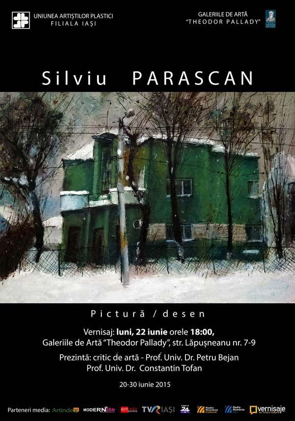 Expoziţie de pictură şi desen a tânărului artist ieşean Silviu Parascan