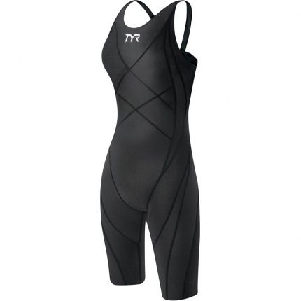 TYR Tracer Light Short John Racing Swimsuit The TYR Tracer Light does exactly what the name implies. Engineered compression in each panel traces along the muscular contours of the body optimizing athletic performance benefits.