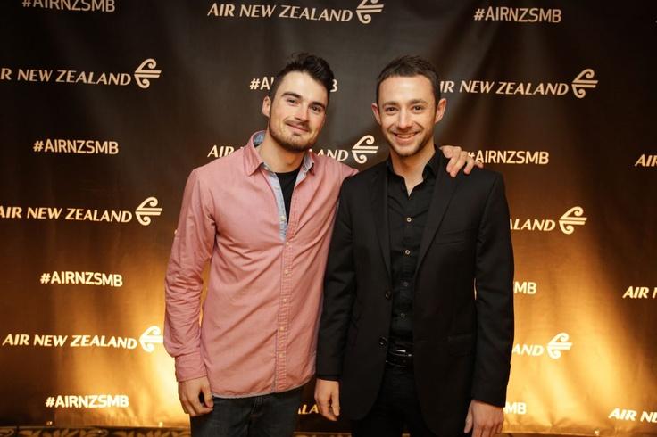 Guests at the #AirNZSMB
