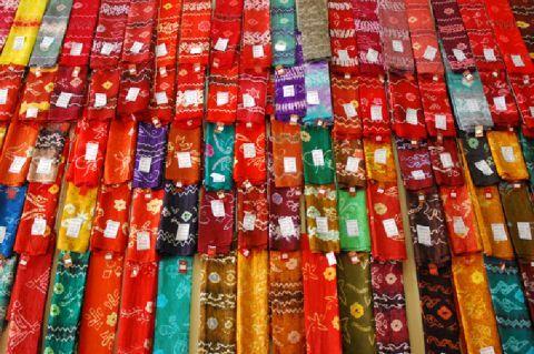 LivingParadiso : Kampung Sasirangan adalah tempat pembuatan batik ...