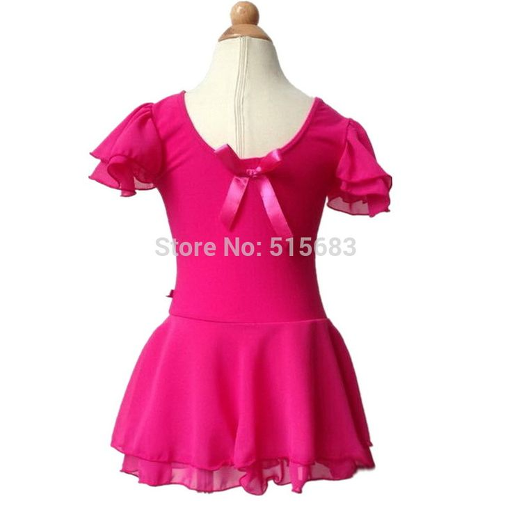 Petite Praisers Dance Class Garment.  Fusica Pink short leo with attached skirt. Perfect for any little girl praiser to feel joyful and wonderfully made!