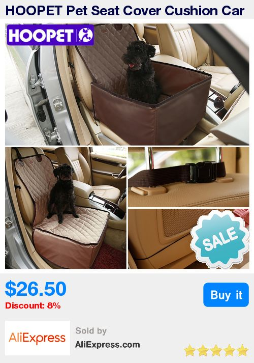 HOOPET Pet Seat Cover Cushion Car Interior Travel Accessories Dog Car Seat Belt Mat Blankets Protector for Car  * Pub Date: 11:53 Oct 21 2017