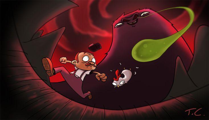 Dale and Gobtron by TreasureFanboy.deviantart.com on @deviantART