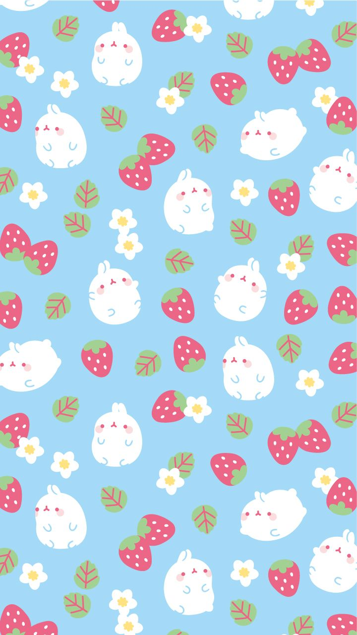 Fond d 39 cran cute pinterest molang wallpaper and for Fond ecran kawaii