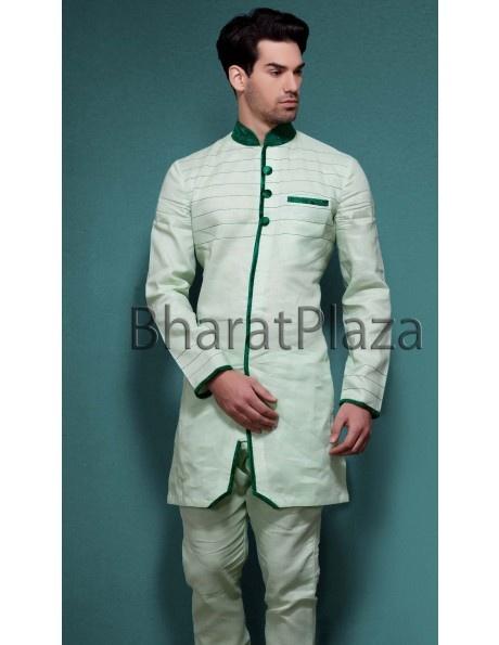 Pristine Pathani Suit Item code : SKB2208  http://www.bharatplaza.com/ready-to-ship/kurta-pyjamas/pristine-pathani-suit-skb2208.html https://www.facebook.com/bharatplazaportal https://twitter.com/bharat_plaza
