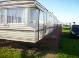 Caravans to rent at Golden Anchor Family Holiday Park.