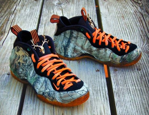 b78add6a04a Nike Air Foamposite One RealTree Camo Custom