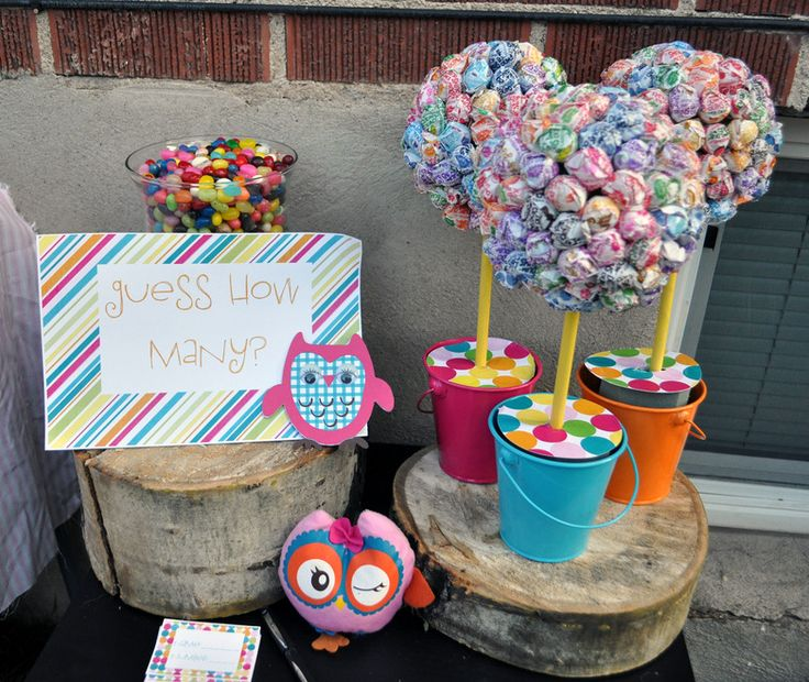 Owl Themed Birthday Party | DYI owl painting. Games/projects like this are great for a party ...