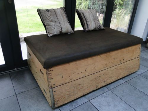 Retro-vintage-genuine-school-gym-horse-vault-up-cycled-to-storage-bench-seating
