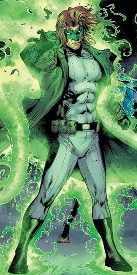 Hal Jordan.  NOT Green Lantern.