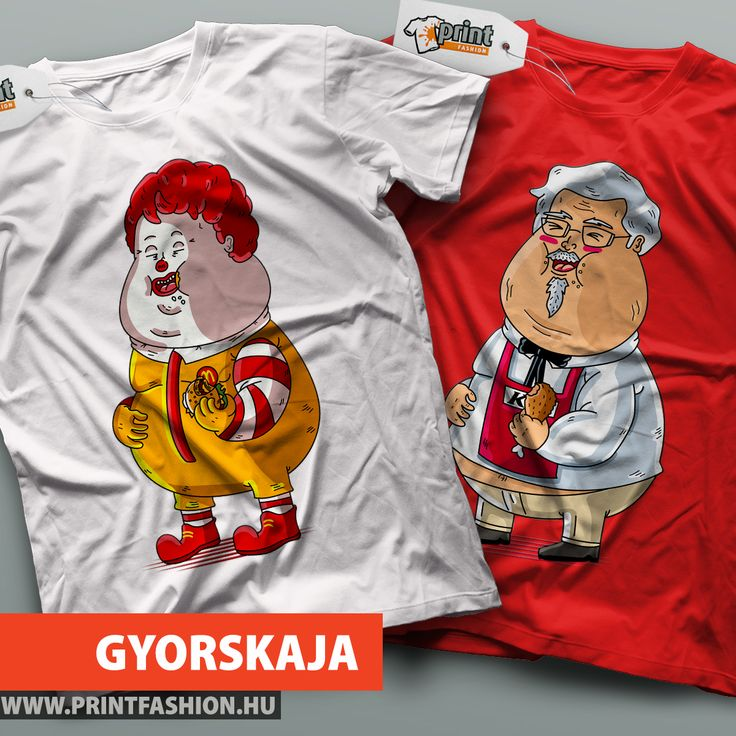 GYORSKAJA - Egyedi mintás pólók! 🍟🍔🍕 PÓLÓ 1: http://printfashion.hu/mintak/reszletek/gyorskaja1/ferfi-polo/ PÓLÓ 2: http://printfashion.hu/mintak/reszletek/gyorskaja2/ferfi-polo/