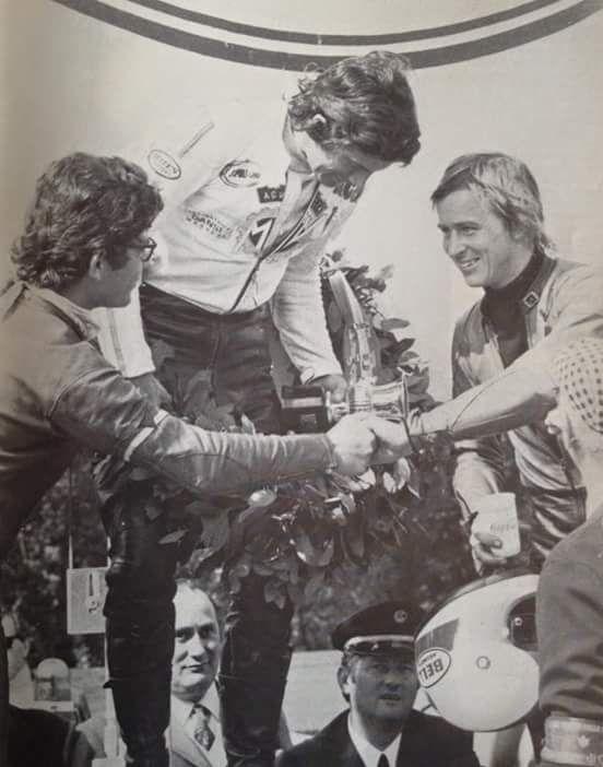 Pasolini, Agostini and Saarinen ( TT Assen )..