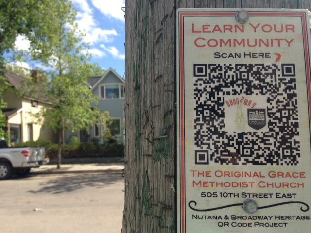 qr codes local history - Google Search