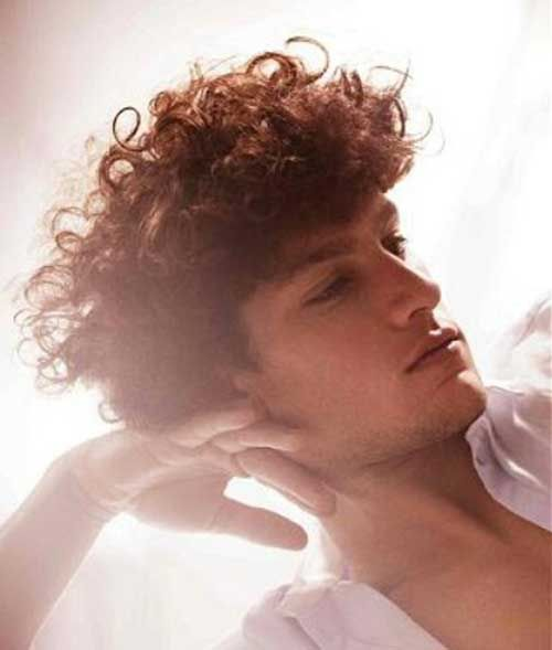 The 25+ best Curly hairstyles for guys ideas on Pinterest | Guys ...