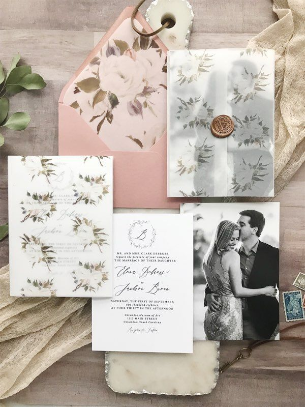 Weddings Trendy Wedding Invitations Photo Wedding Invitations Wedding Invitation Envelopes