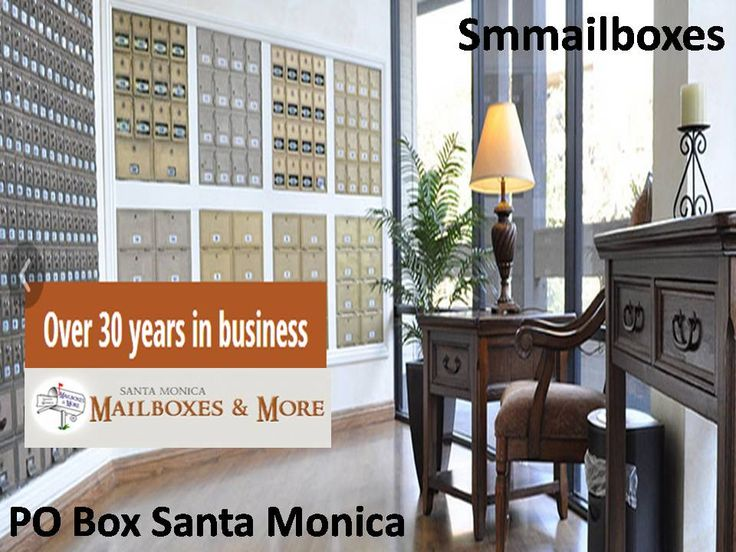 PO Box Santa Monica's services are listening carefully on the needs of the private mailbox renter in Santa Monica and West Los Angeles. We offer you 24-hour Package Access, Fax Services, Worldwide Mail Forwarding etc. you can call us at: (310) 450-4479   http://smmailboxes.com/