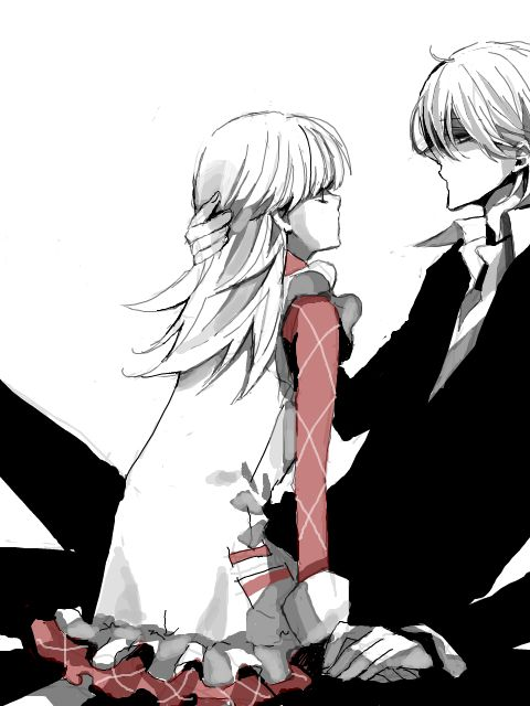 Ashita no Nadja (Nadja Applefield and Keith Harcourt) // Pinterest: @美咲 ♡♡