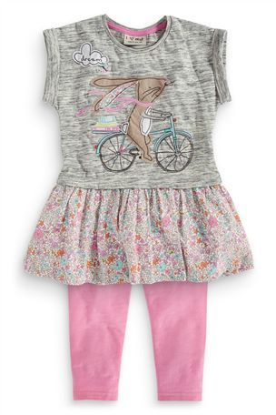 Buy Bunny Embellished Tunic And Legging Set (3mths-6yrs) from the Next UK online shop
