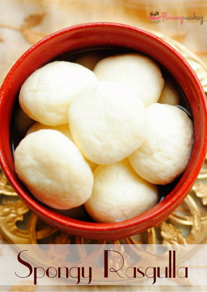 Get this mouth-watering #Spongy #Rasgulla at Flowerz n Cakez http://goo.gl/LTSVgW