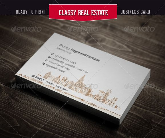 21 best real estate business cards images on pinterest business 30 best examples of real estate business card designs reheart Images