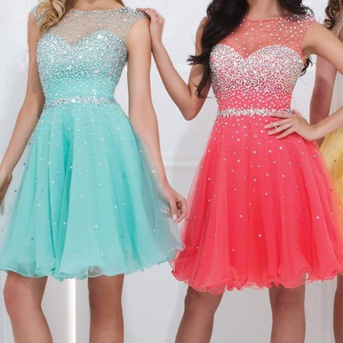 Bd07028 Charming Homecoming Dress,A-Line Homecoming Dress,Organza Homecoming Dress,Beading Short Prom Dress