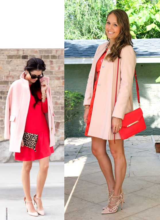 Inspiration: Pink Peonies via WhoWhatWear I'm so excited about this pink coat from ASOS. I had a pink wool coat when I lived in Boston years ago, and I gave it away to a friend when I moved. Pink coat karma came back around because this one was a great shopping find. I love the collarless trapeze shape – it feels vintage and modern at the same time, and it looks great with a dress (an outfit option for Valentine's Day, perhaps?) and works equally well casually with jeans. Which pink ...