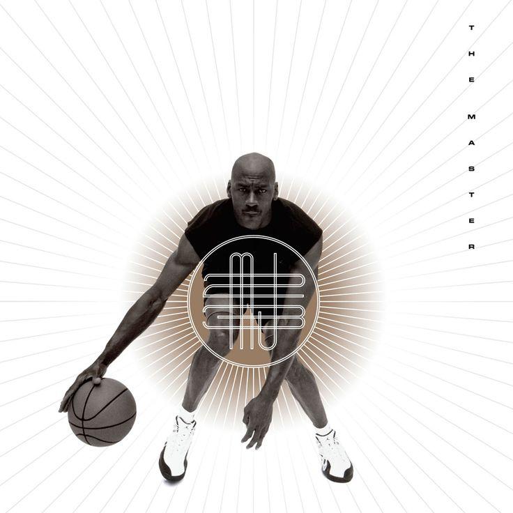 Michael Jordan 'The Master' Nike Air Jordan Poster (1996)