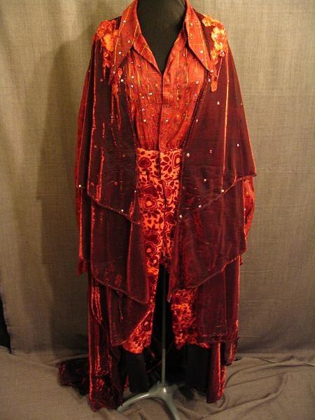 09011034 09017667 09017568 Fantasy Men S Robe Shirt And