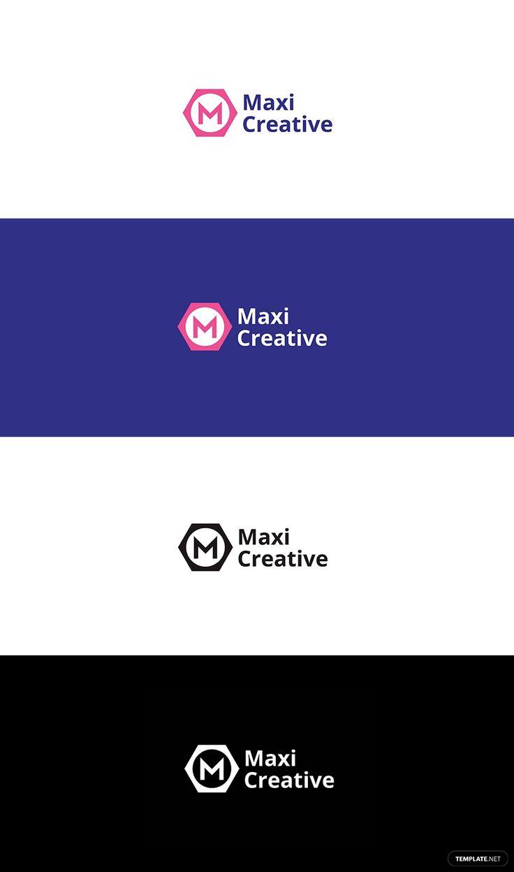 creative agency logo template  ad     paid   agency