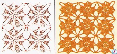 Мои руки тканей и больше ... Производитель: Образцы вязания крючком