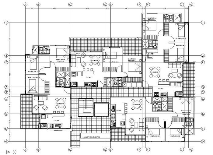 Aplicaci n del dibujo t cnico en arquitectura dibujo for Libros de planos arquitectonicos