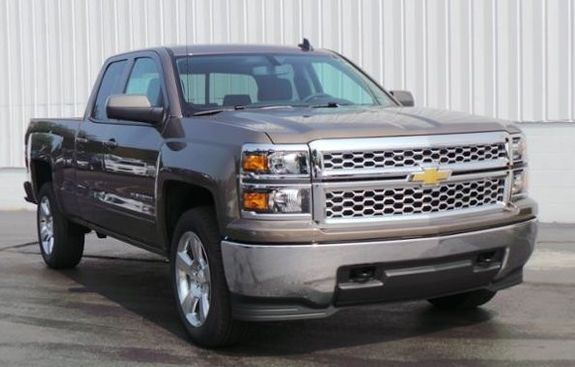 Get an upgrade with one of our new #Chevy trucks for sale near #BigRapids MI.