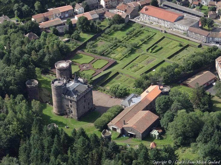 Photo aérienne de Pontgibaud - Puy-de-Dôme (63)